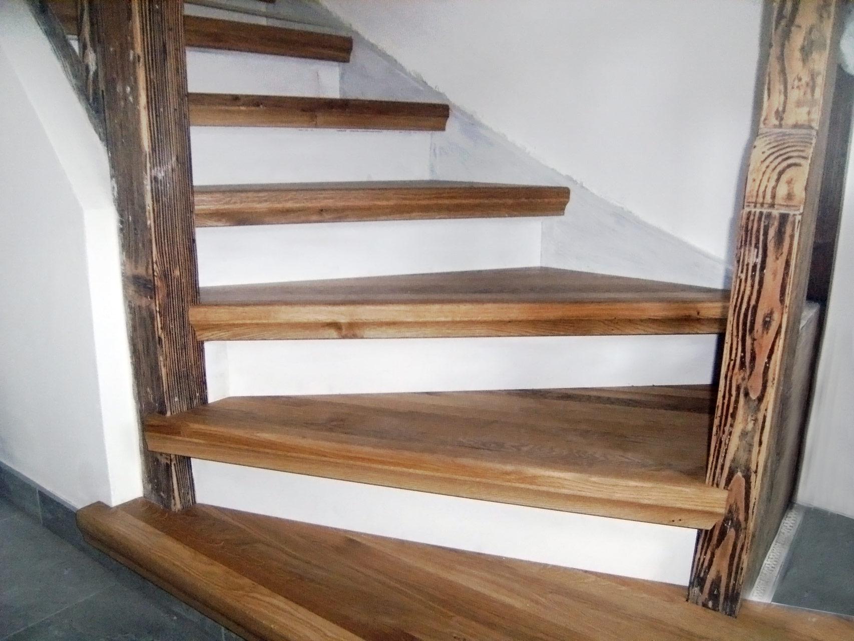 Alt- & Umbau: Treppe