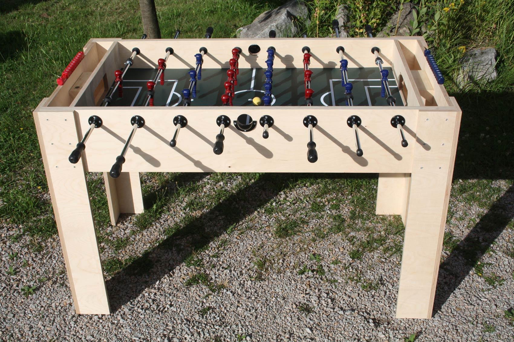 Bausatz: Tischkicker