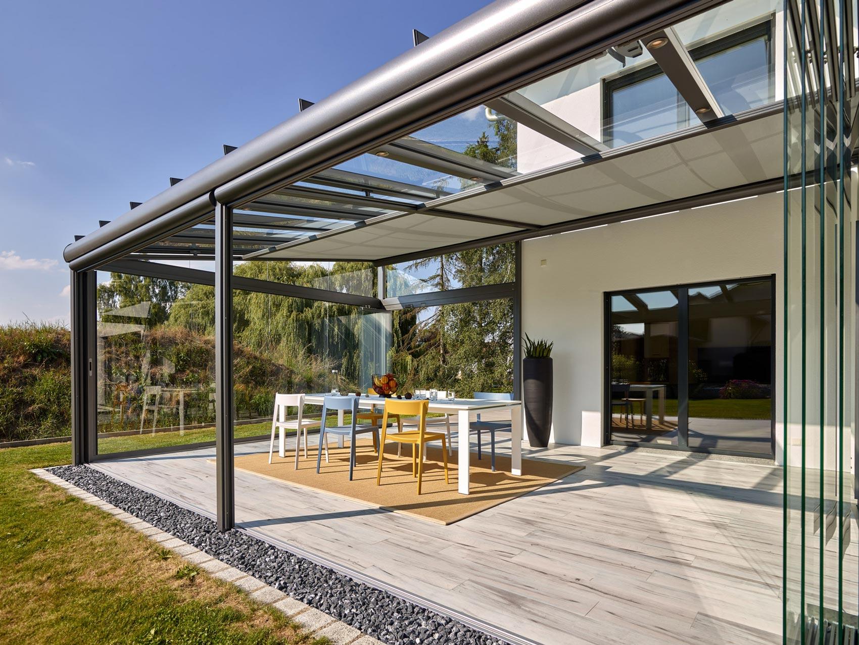Solarlux: Terrassendach